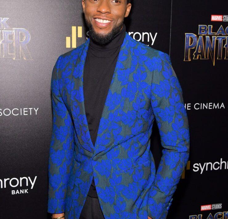 "Chadwick Boseman The Cinema Society Hosts A Screening Of Marvel Studios' ""Black Panther"""