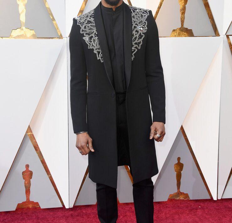 Chadwick Boseman 90th Annual Academy Awards - Arrivals