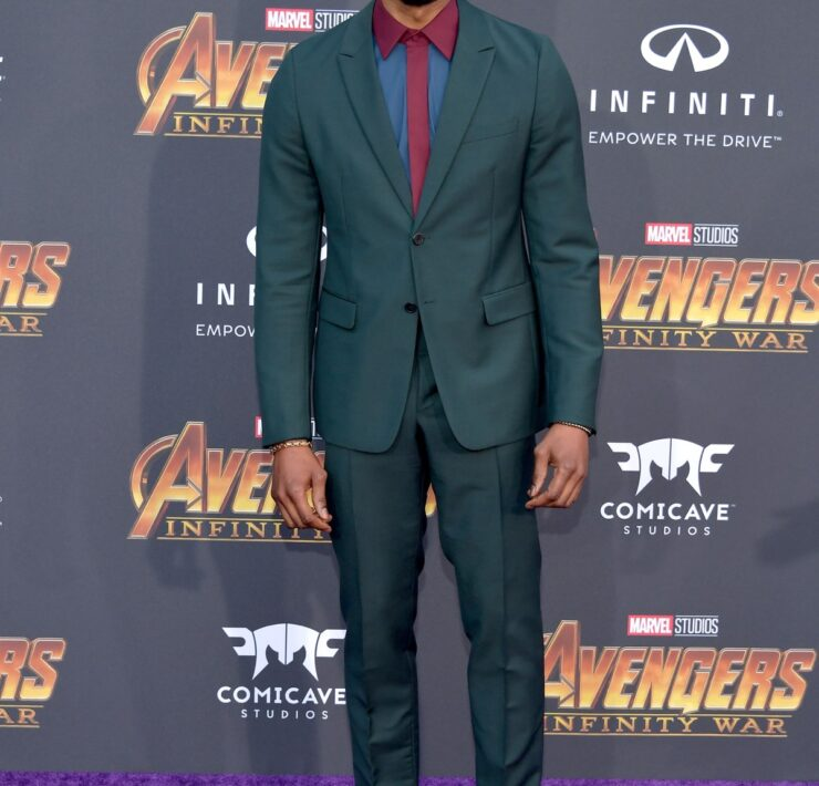 """Chadwick Boseman Premiere Of Disney And Marvel's """"Avengers: Infinity War"""" - Arrivals"""