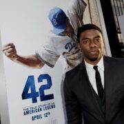 """Chadwick Boseman Premiere Of Warner Bros. Pictures' And Legendary Pictures' """"42"""" - Red Carpet"""
