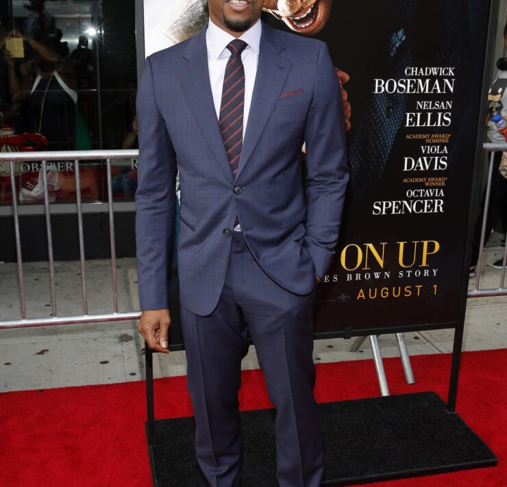 """Chadwick Boseman """"Get On Up"""" New York Premiere - Arrivals"""