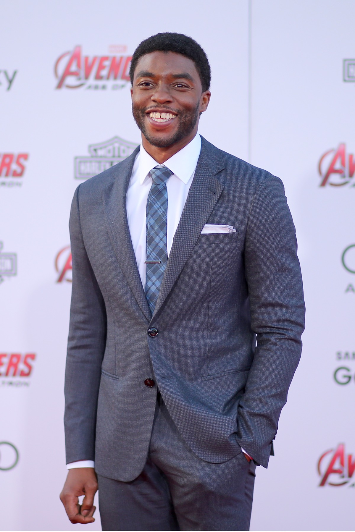 "Chadwick Boseman Premiere Of Marvel's ""Avengers: Age Of Ultron"" - Arrivals"