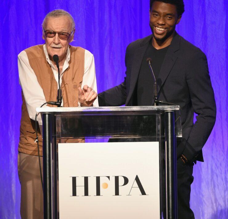 Chadwick Boseman Hollywood Foreign Press Association's Grants Banquet - Show