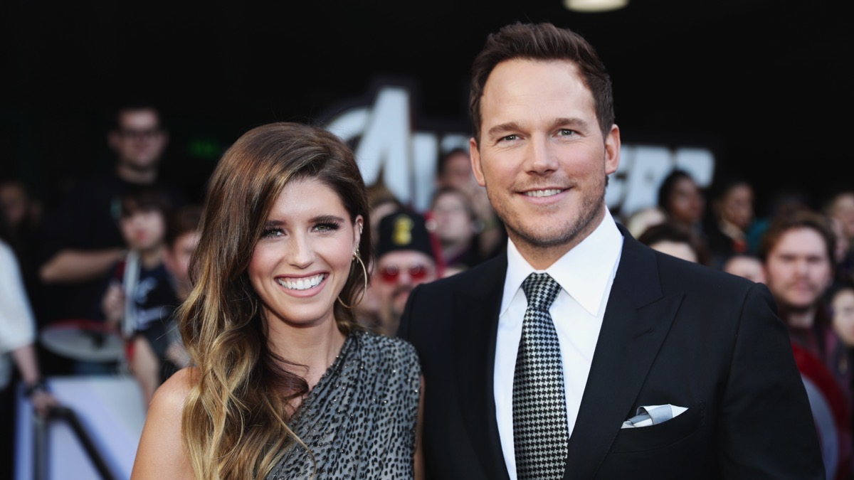 "Chris Pratt and Katherine Schwarzenegger Los Angeles World Premiere Of Marvel Studios' ""Avengers: Endgame"""