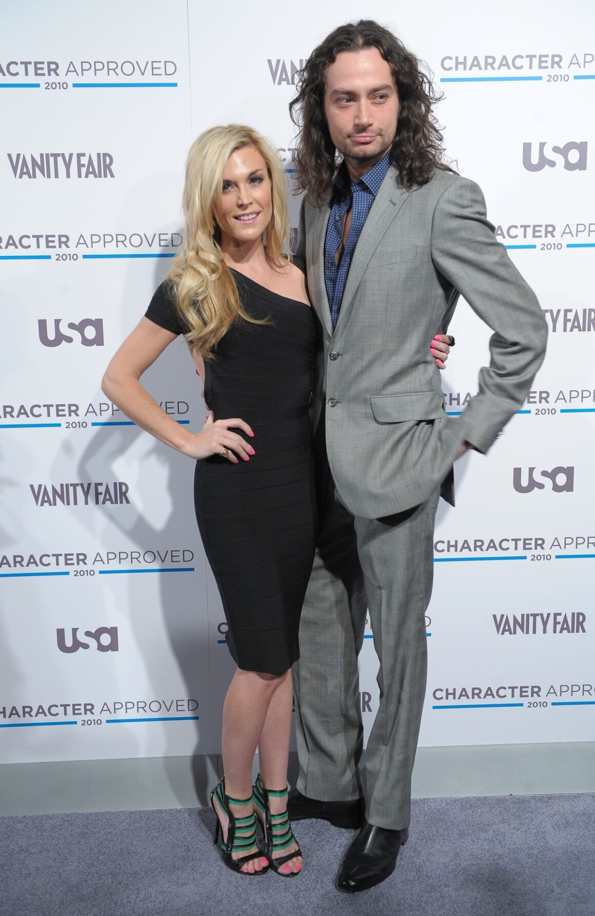 Constantine Maroulis and Tinsley Mortimer 2nd Annual Character Approved Awards Cocktail Reception