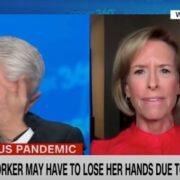 Anderson Cooper broke down in tears