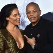 "Dr. Dre's and Nicole Young Universal Pictures And Legendary Pictures' Premiere Of ""Straight Outta Compton"" - Arrivals"