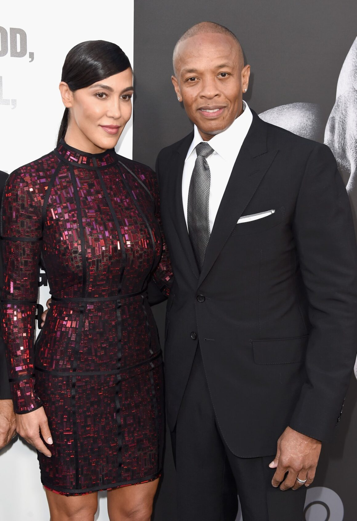 """Dr. Dre's and Nicole Young Premiere Of HBO's """"The Defiant Ones"""" - Red Carpet"""