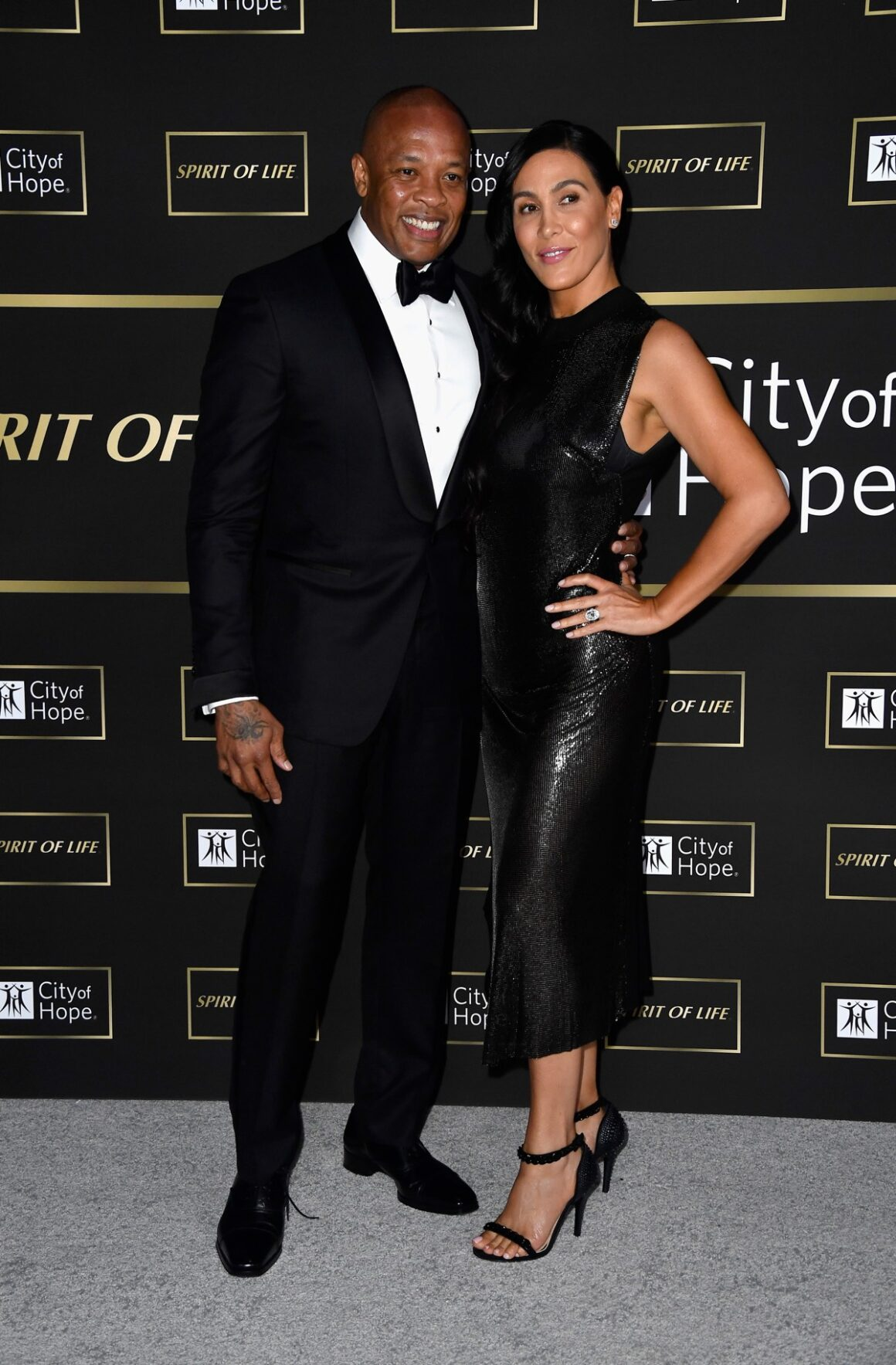 Dr. Dre's and Nicole Young City of Hope Spirit of Life Gala 2018 - Arrivals