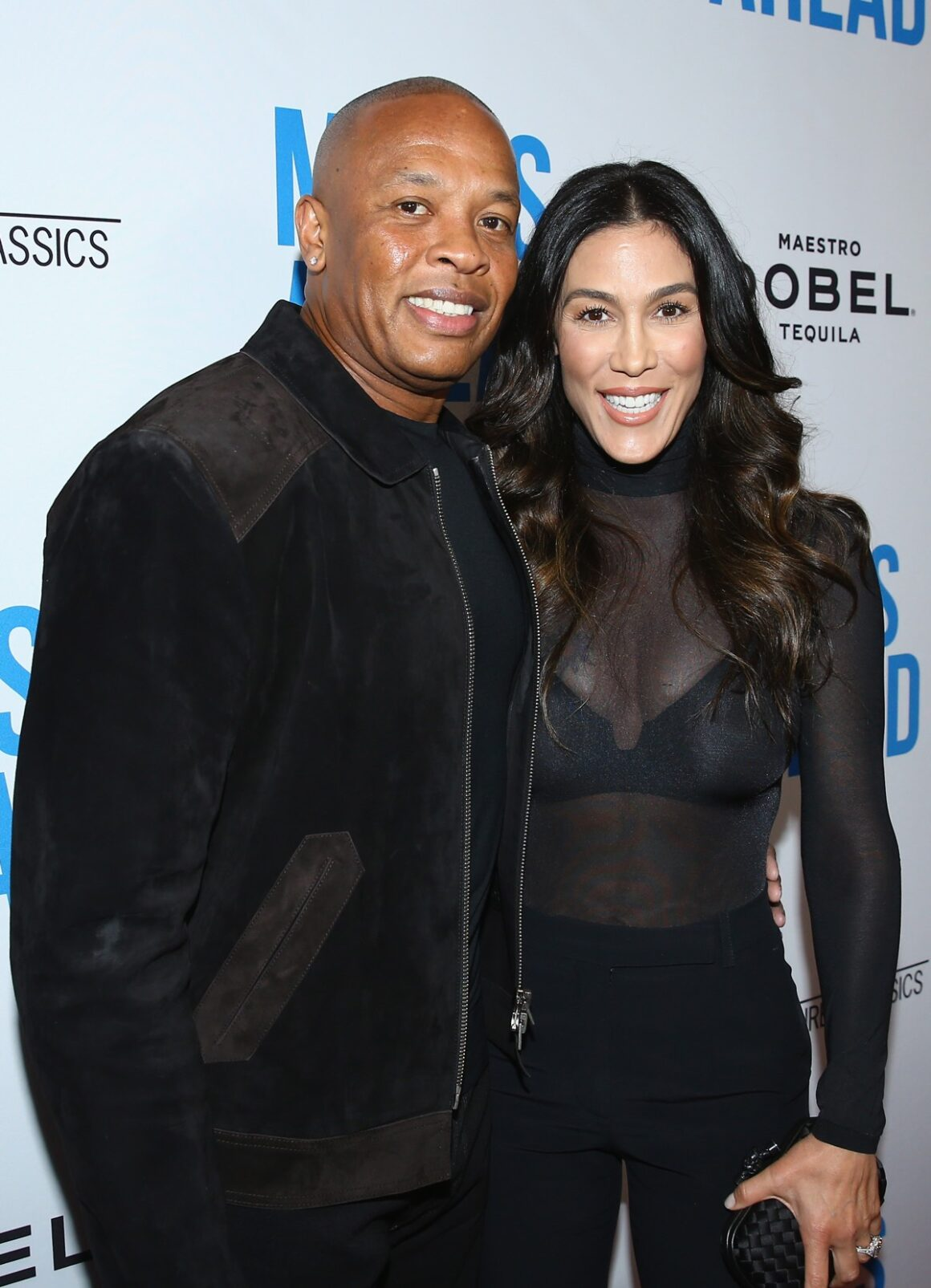 """Dr. Dre's and Nicole Young Premiere Of Sony Pictures Classics' """"Miles Ahead"""" - Red Carpet"""
