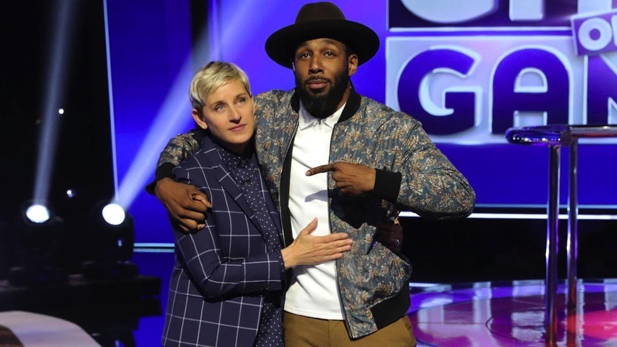 Ellen DeGeneres and Twitch