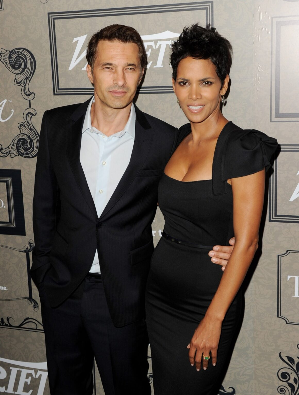 Halle Berry and Olivier Martinez Variety's Power Of Women Presented By Lifetime - Arrivals