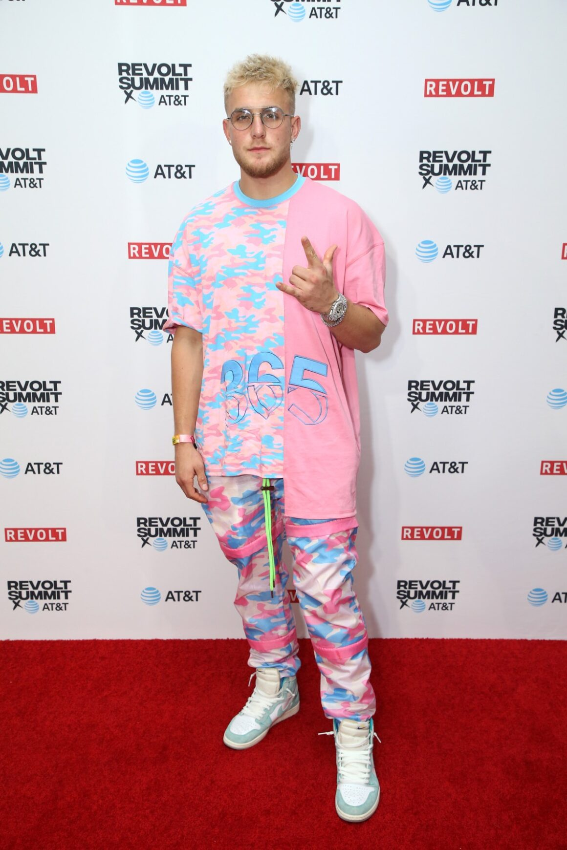 Jake Paul REVOLT X AT&T Host REVOLT 3-Day Summit In Los Angeles - Day 2