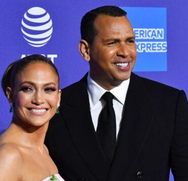Jennifer Lopez and Alex Rodriguez 31st Annual Palm Springs International Film Festival Film Awards Gala - Arrivals