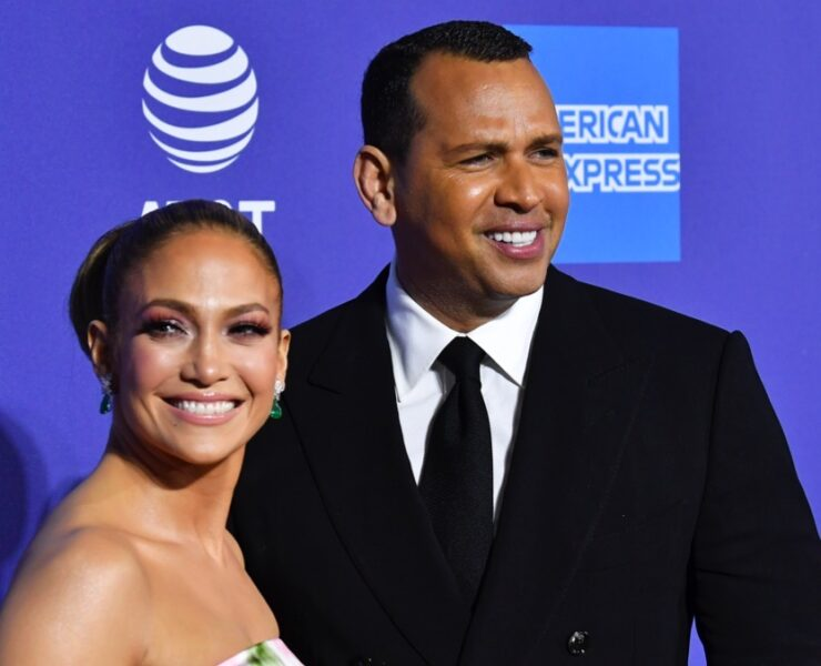 Jennifer Lopez and Alex Rodriguez 31st Annual Palm Springs International Film Festival Film Awards Gala - Arrivals