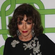Joan Collins HBO's Official Golden Globe Awards After Party - Arrivals