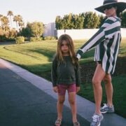 Kourtney Kardashian and Reign Disick