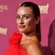 Lea Michele Entertainment Weekly And L'Oreal Paris Hosts The 2019 Pre-Emmy Party - Arrivals