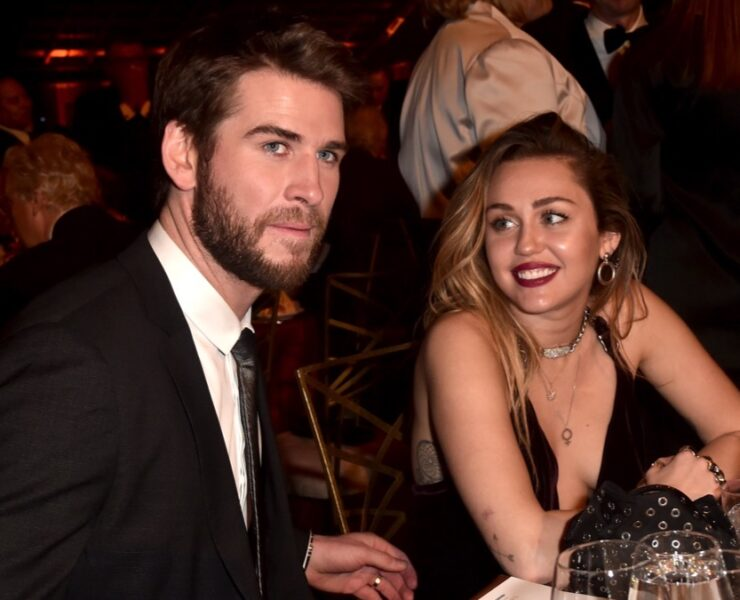 Liam Hemsworth and Miley Cyrus 16th Annual G'Day USA Los Angeles Gala - Inside