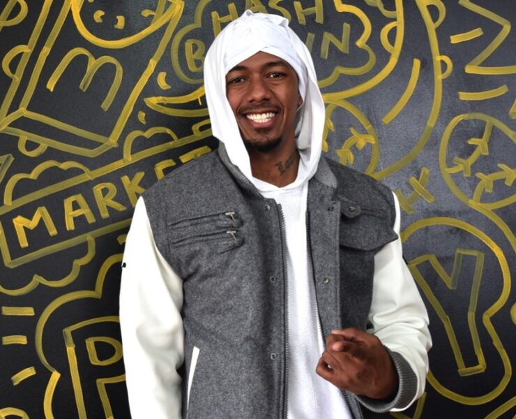 Nick Cannon at McDonald's At Made In America Festival In Philadelphia