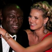 Heidi Klum and Seal 58th Annual Primetime Emmy Awards - Governor's Ball