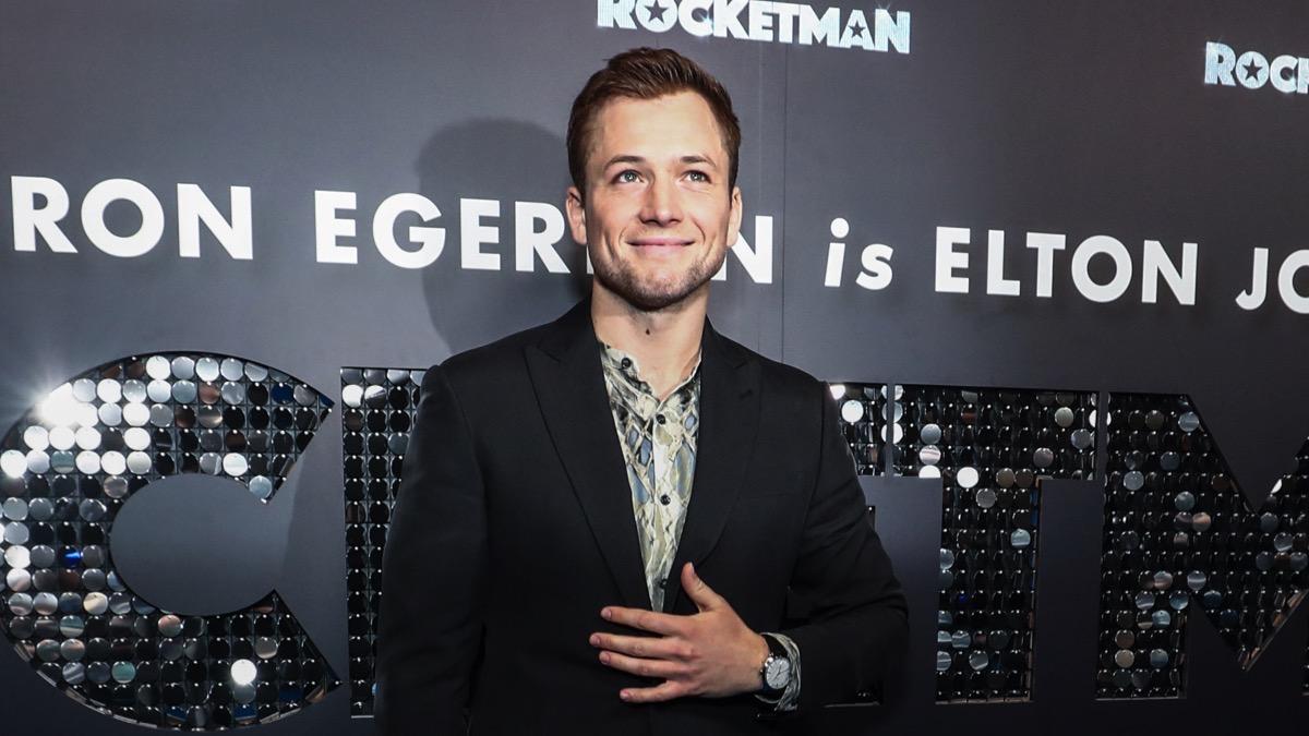 Taron Egerton Rocketman Australian Premiere
