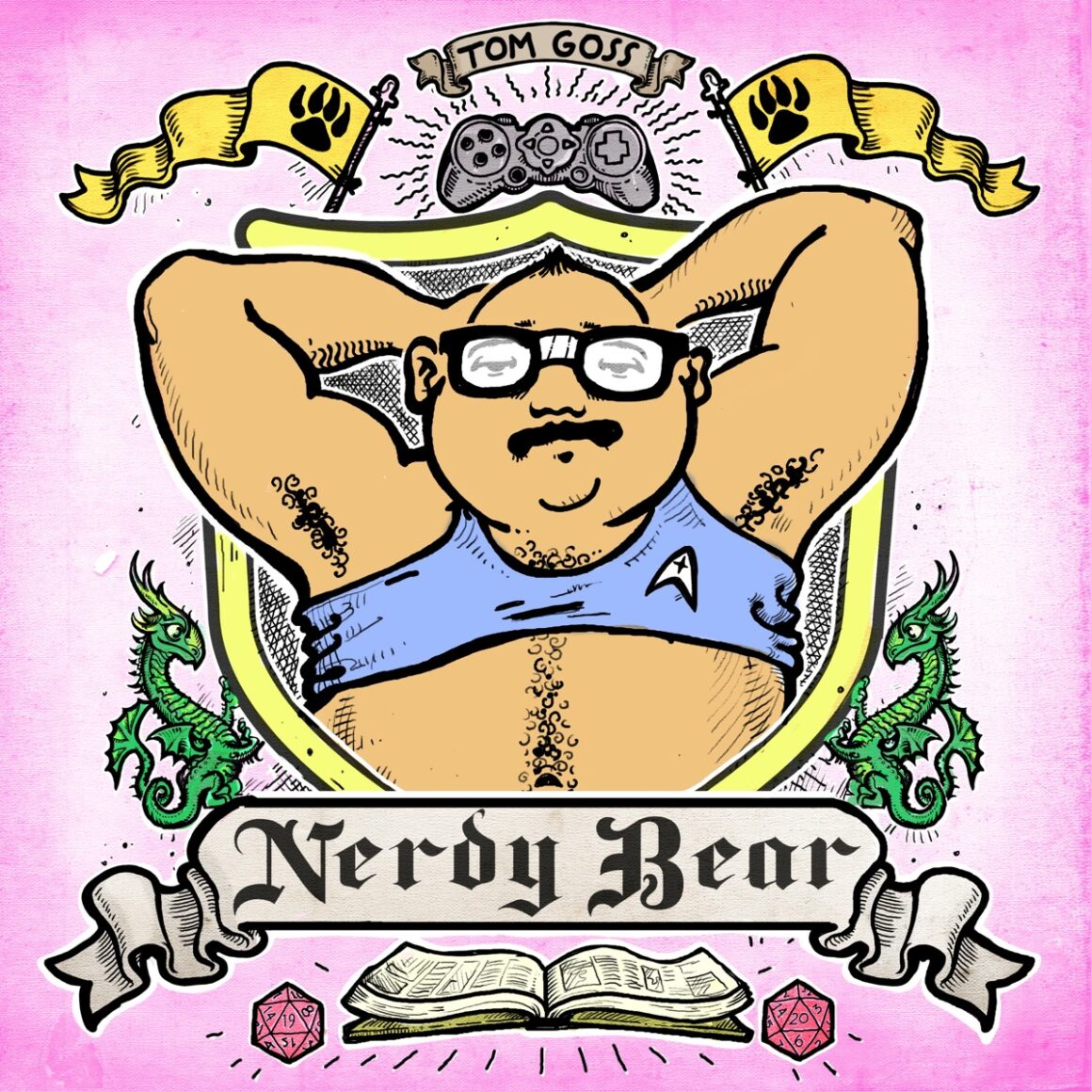 Tom Goss Nerdy Bear