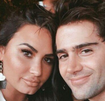 Max Ehrich and Demi Lovato