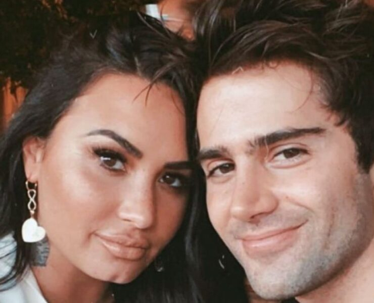 Max Ehrich and Demi Lovato