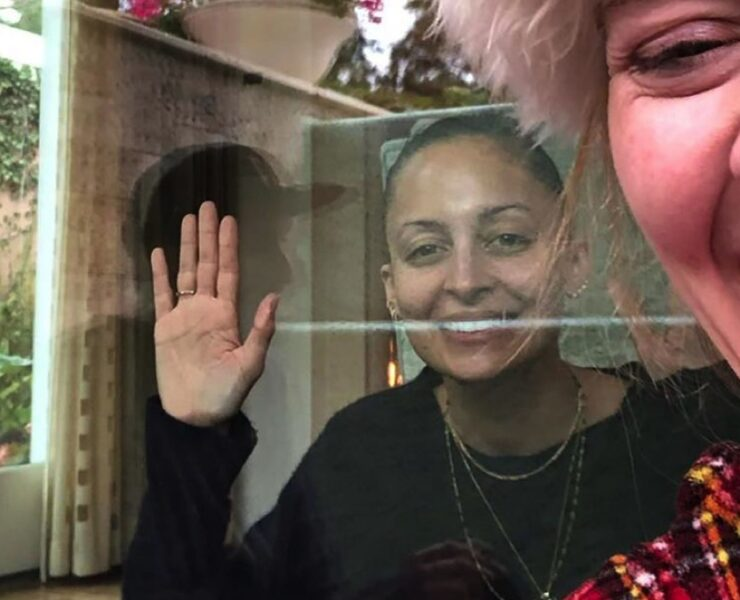 Adele and Nicole Richie