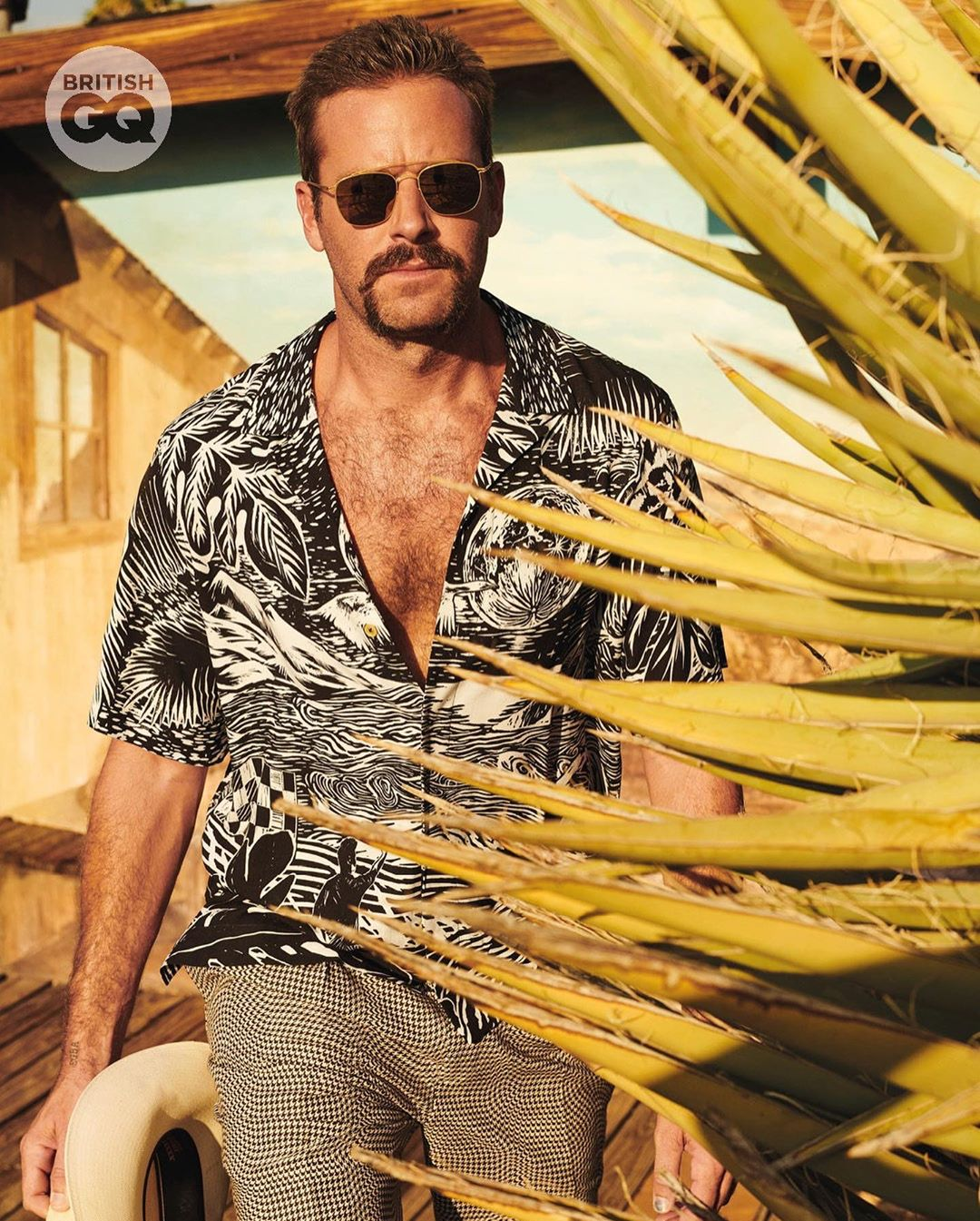 Armie Hammer for British GQ