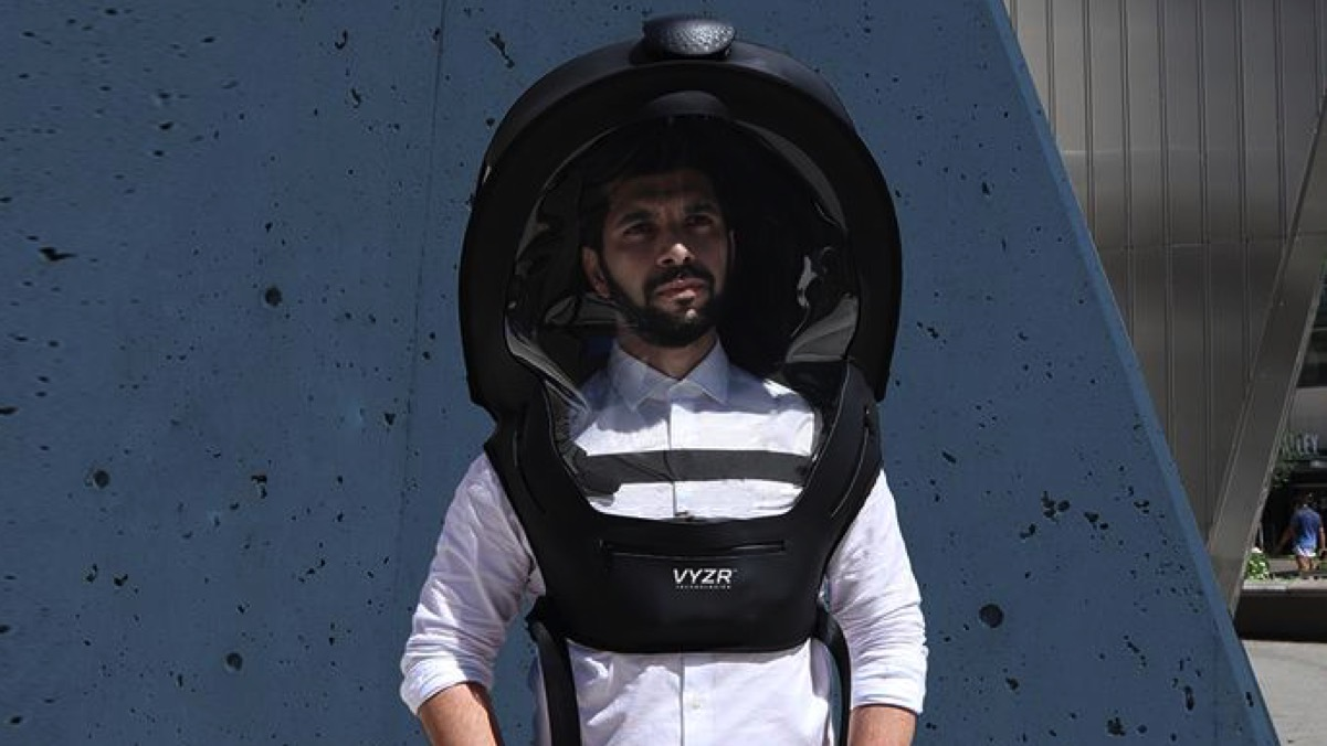 Ditch the Face Mask and Wear the BioVYZR Space Helmet