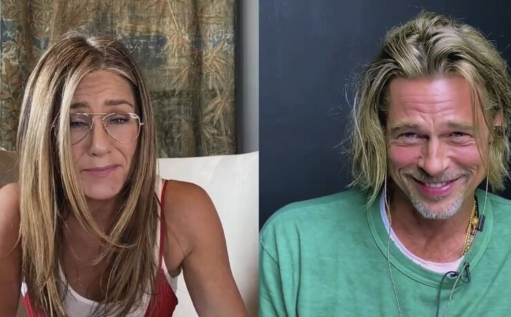 Jennifer Aniston and Brad Pitt Fast Times
