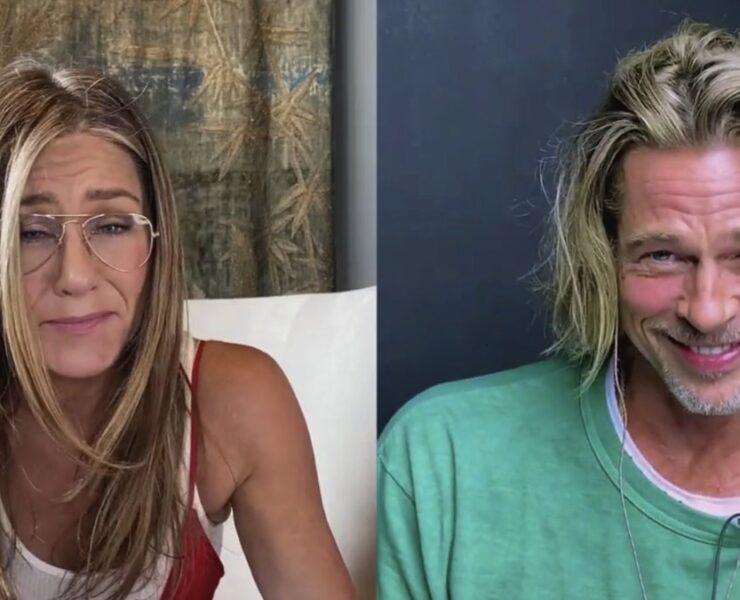 Jennifer Aniston and Brad Pitt Fast Times