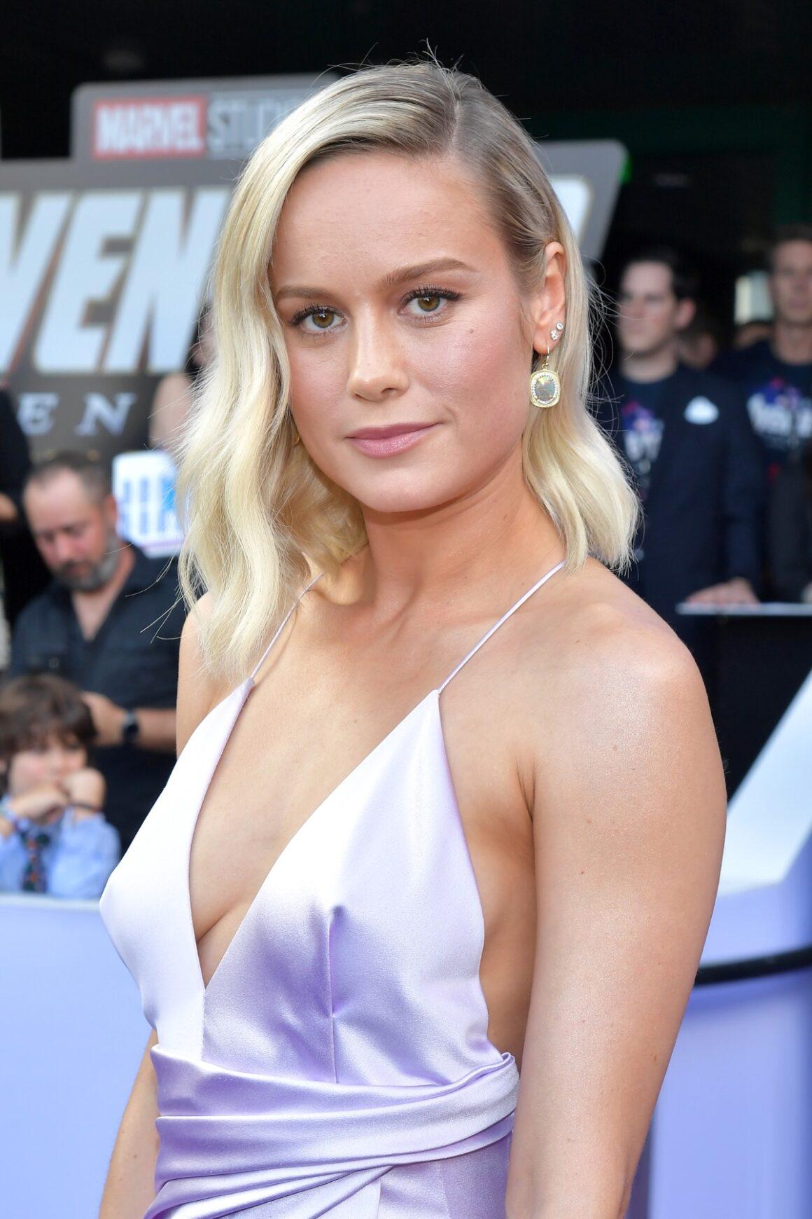 "Brie Larson World Premiere Of Walt Disney Studios Motion Pictures ""Avengers: Endgame"" - Red Carpet"