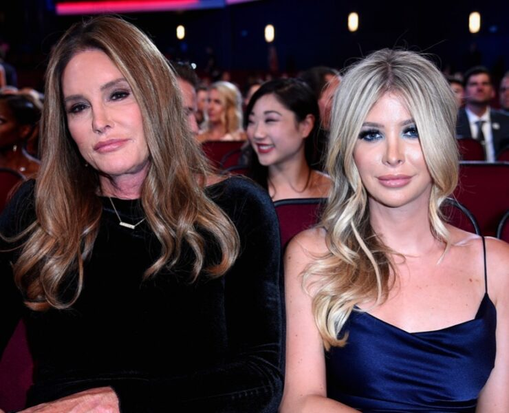 Sophia Hutchins and Caitlyn Jenner The 2018 ESPYS - Show
