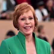 Carol Burnett 22nd Annual Screen Actors Guild Awards - Red Carpet