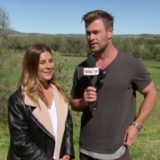Chris Hemsworth Crashes Weather Report to Read Forecast