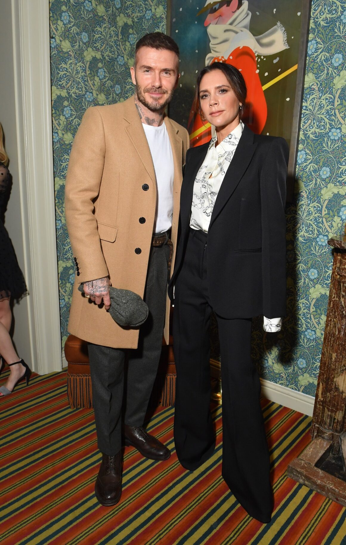 Victoria Beckham x YouTube Fashion & Beauty After Party at London Fashion Week Hosted by Derek Blasberg and David Beckham