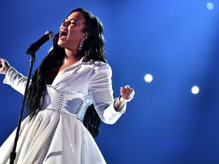 Demi Lovato 62nd Annual GRAMMY Awards - Inside