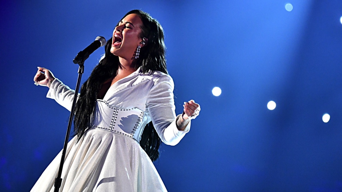 Demi Lovato 62nd Annual GRAMMY Awards - Inside