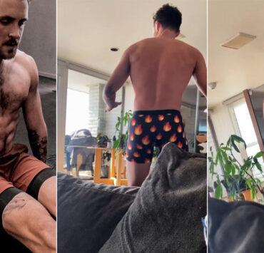 Dylan Efron booty shake
