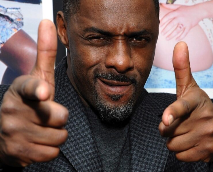 "Idris Elba W Magazine Celebrates The ""Best Performances"" Portfolio And The Golden Globes With Cadillac And Dom Perignon"