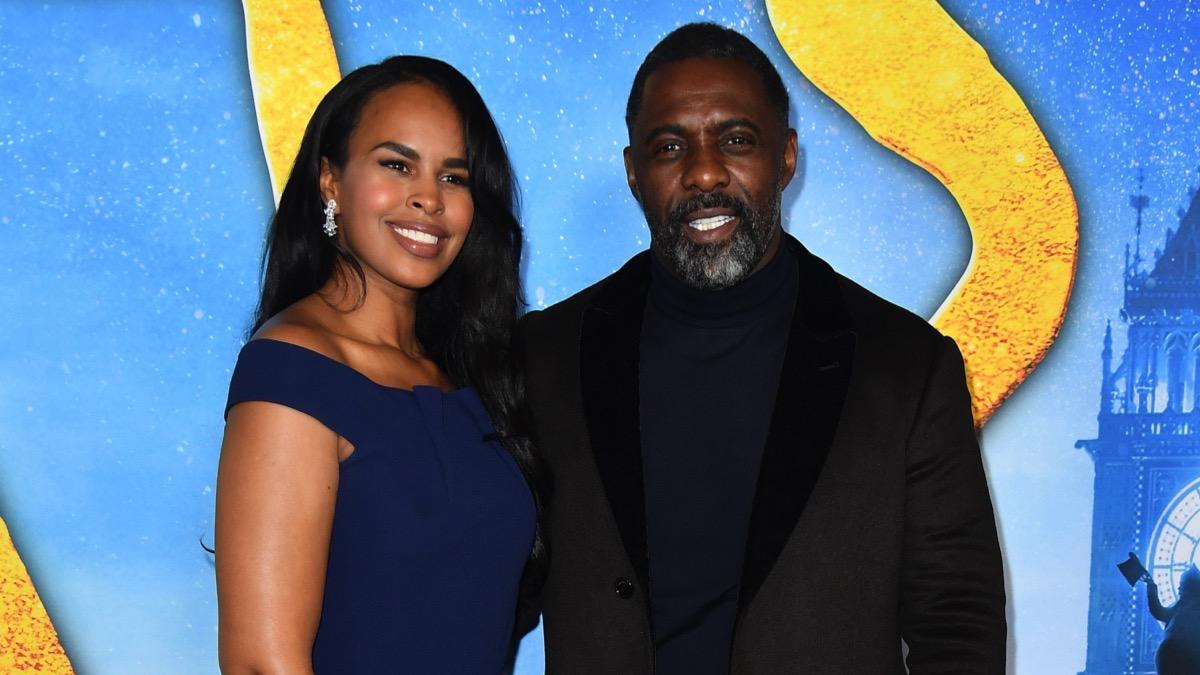 Idris Elba and wife Sabrina Dhowre