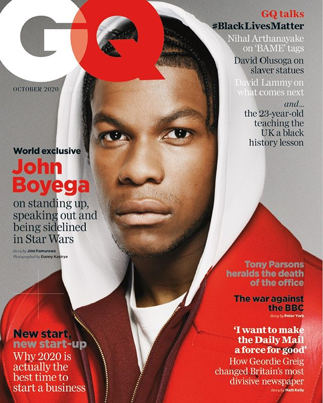 John Boyega for British GQ