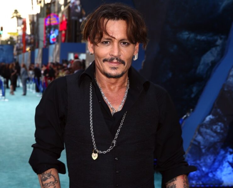 "Johnny Depp Premiere Of Disney's ""Pirates Of The Caribbean: Dead Men Tell No Tales"" - Red Carpet"