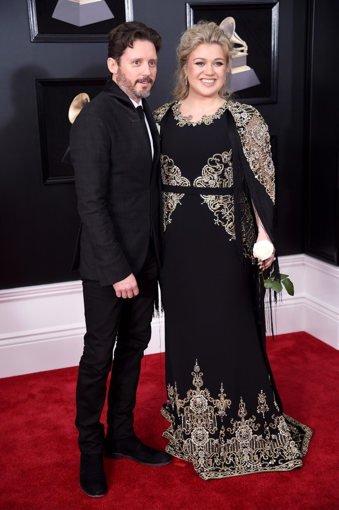 Kelly Clarkson 60th Annual GRAMMY Awards - Red Carpet