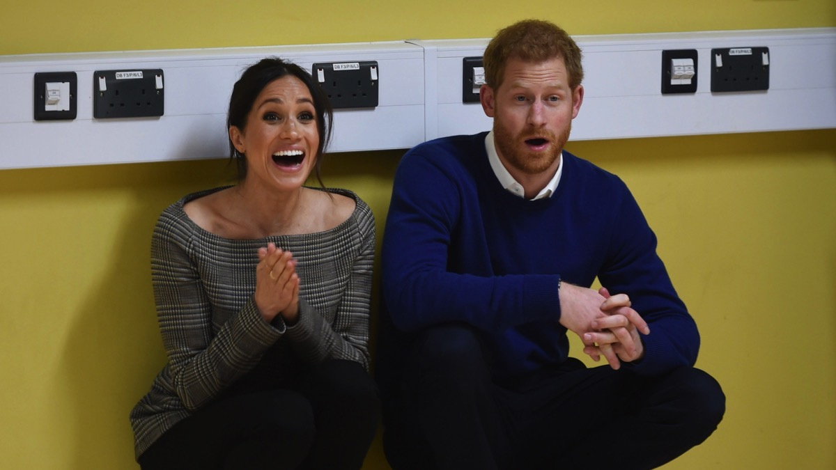 Prince Harry and Meghan Markle Prince Harry And Meghan Markle Visit Star Hub