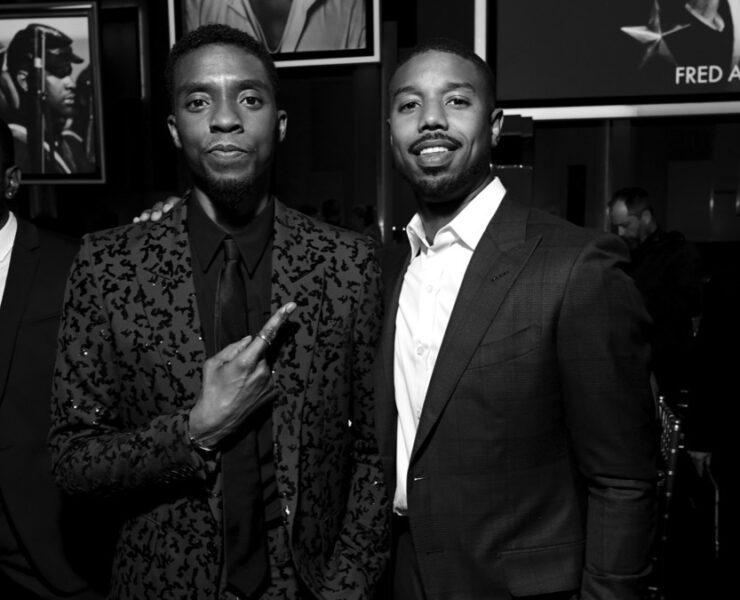 Chadwick Boseman and Michael B. Jordan 47th AFI Life Achievement Award Honoring Denzel Washington - Inside