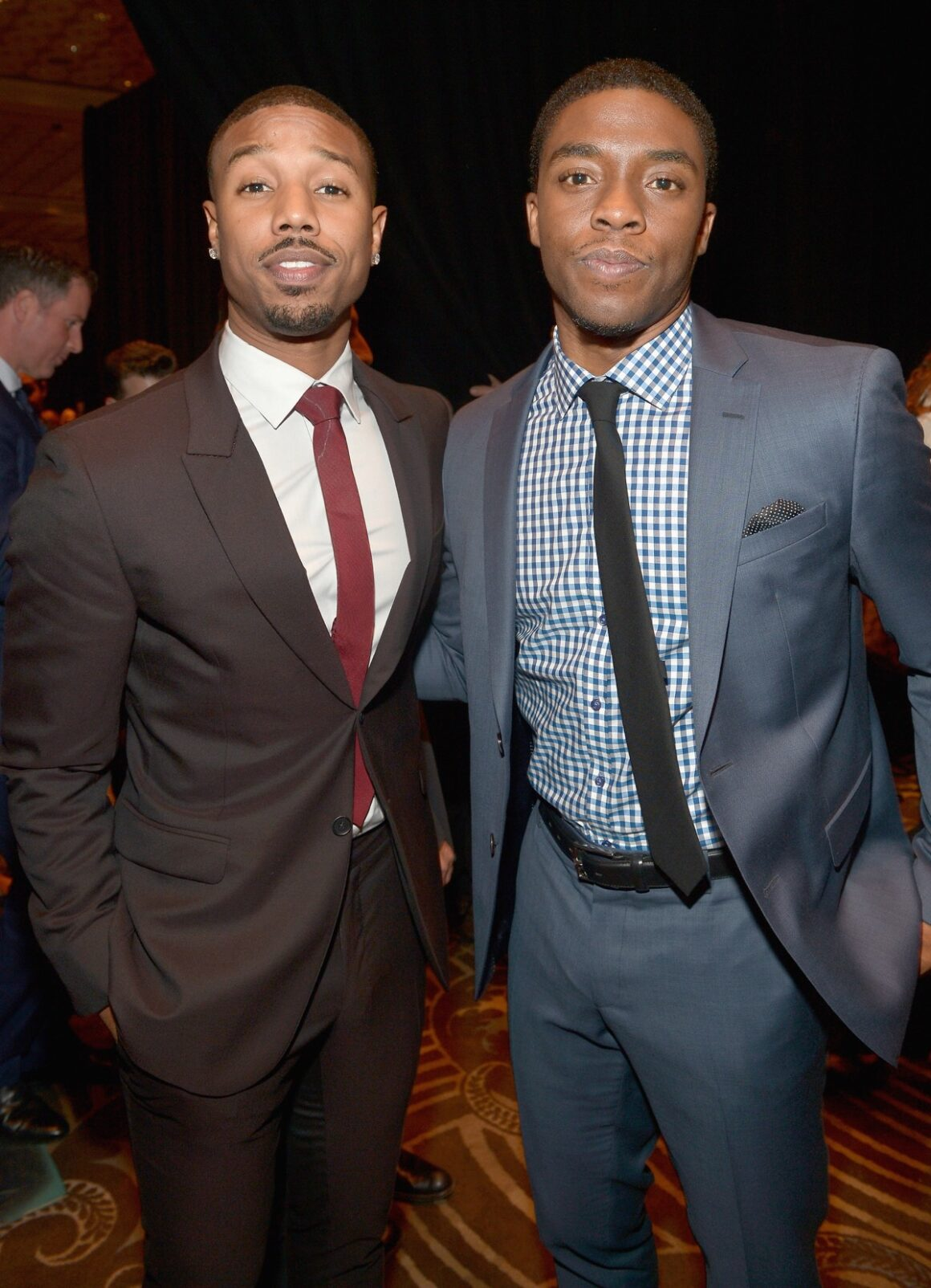 Chadwick Boseman and Michael B. Jordan CinemaCon 2014 - The CinemaCon Big Screen Achievement Awards Brought To You By The Coca-Cola Company